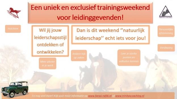 Poster Trainingsweekend (1)